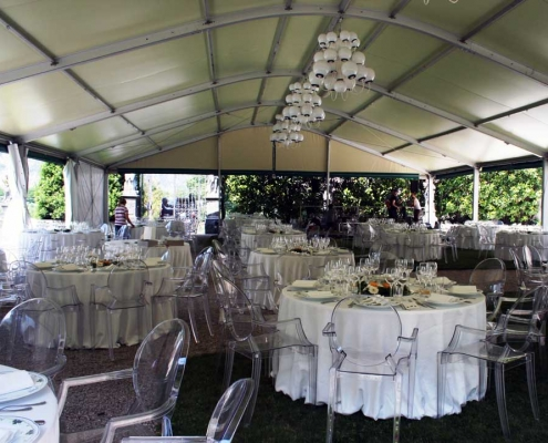 Tendostrutture per feste, eventi, matrimoni